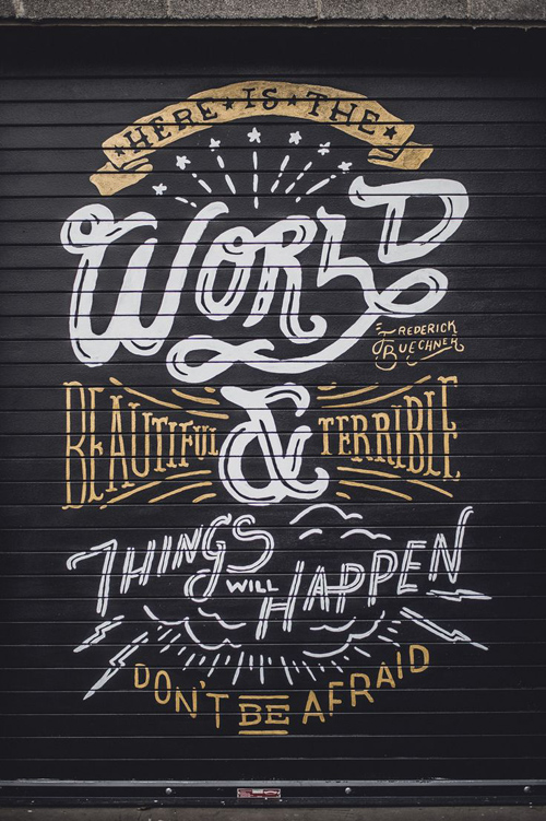 Typography Posters: 30 Motivational and Inspiring Quotes - 19